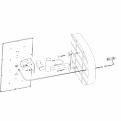 Настенный кронштейн KH-200 для антенны
