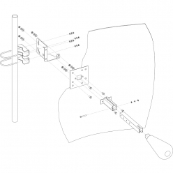 KNA24-1700/2700 - Параболическая MIMO антенна 24 дБ
