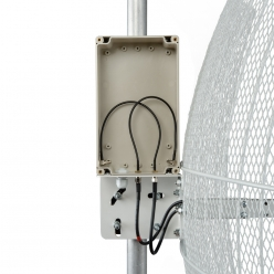 KNA21-1700/2700 BOX - параболическая MIMO антенна 21 дБ с гермобоксом