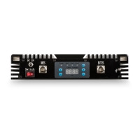Двухдиапазонный репитер GSM1800 и 3G сигнала 80 дБ KROKS RK1800/2100-80M