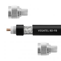 Кабельная сборка 8D-FB VEGATEL (ГОСТ) (N-male - N-male)