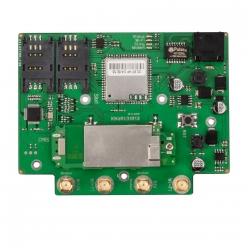 Роутер Kroks Rt-Brd RSIM DS sH с модемом Huawei E3372, с поддержкой SIM-инжектора