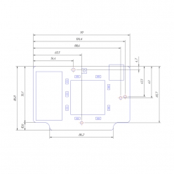 Роутер Kroks Rt-Brd eQ с mPCI-модемом Quectel EC25-E для установки в гермобокс