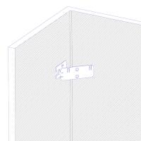 Гибкий кронштейн КПР4 для крепления антенны