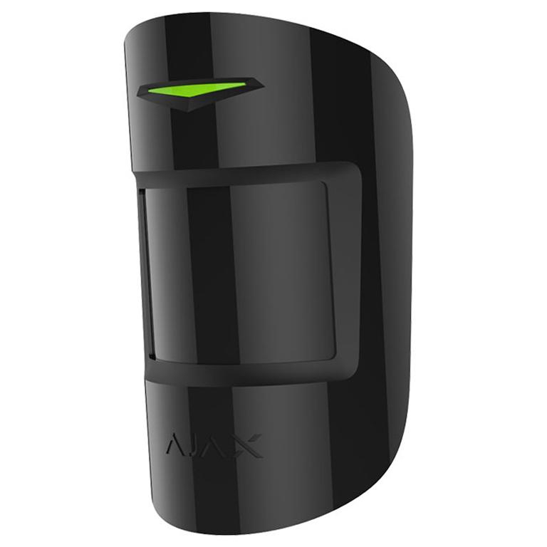 Датчик движения и разбития стекол Ajax CombiProtect (Black)