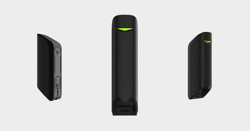Датчик движения с узким углом обзора Ajax MotionProtect Curtain (Black)