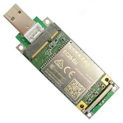 Адаптер MiniPCIe к USB 2,0 со слотом для SIM-карты